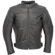 Richa Café Leather Jacket Black